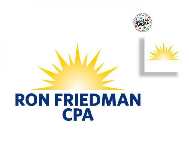 Ron Friedman CPA Brand Identity
