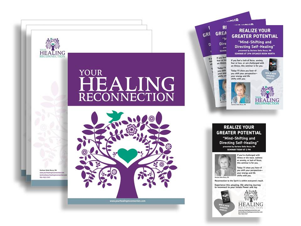 Your Healing Reconnection Print and Digital Products
