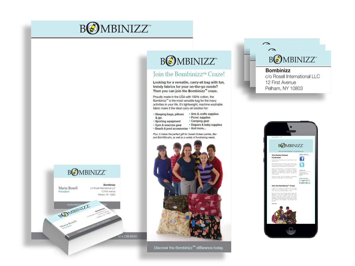 Bombinizz Print and Digital Campaigns