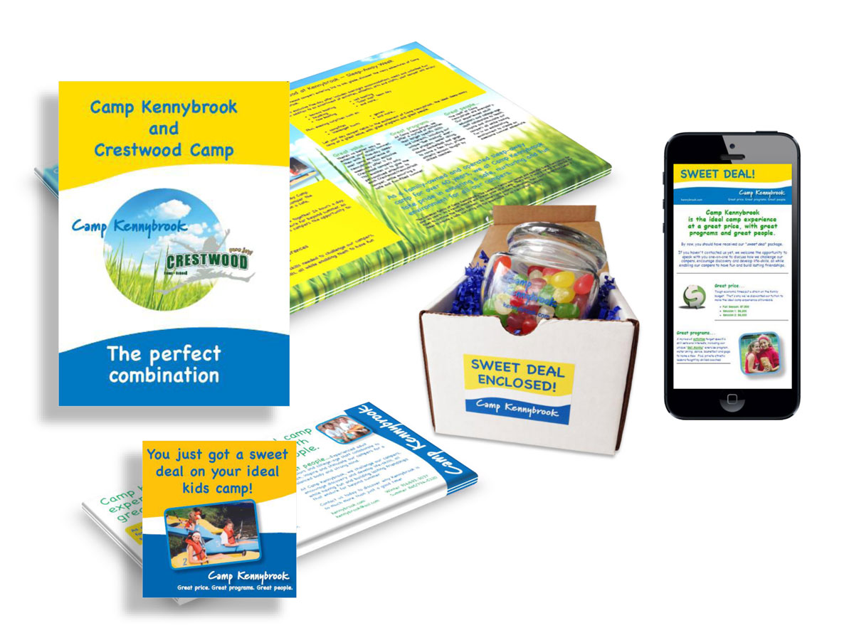 Camp Kennybrook Print and Digital Campaigns