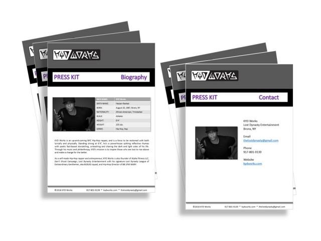 KYD Works Print and Digital Campaigns