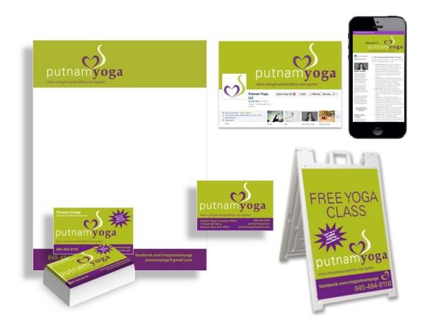 Putnam Yoga Print and Digital Campaigns