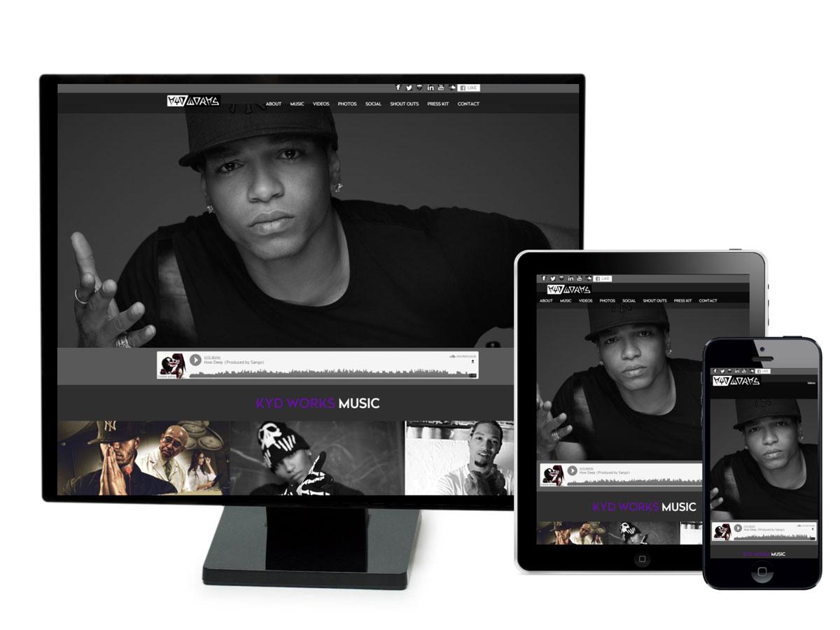 Kyd Works Website Design Portfolio