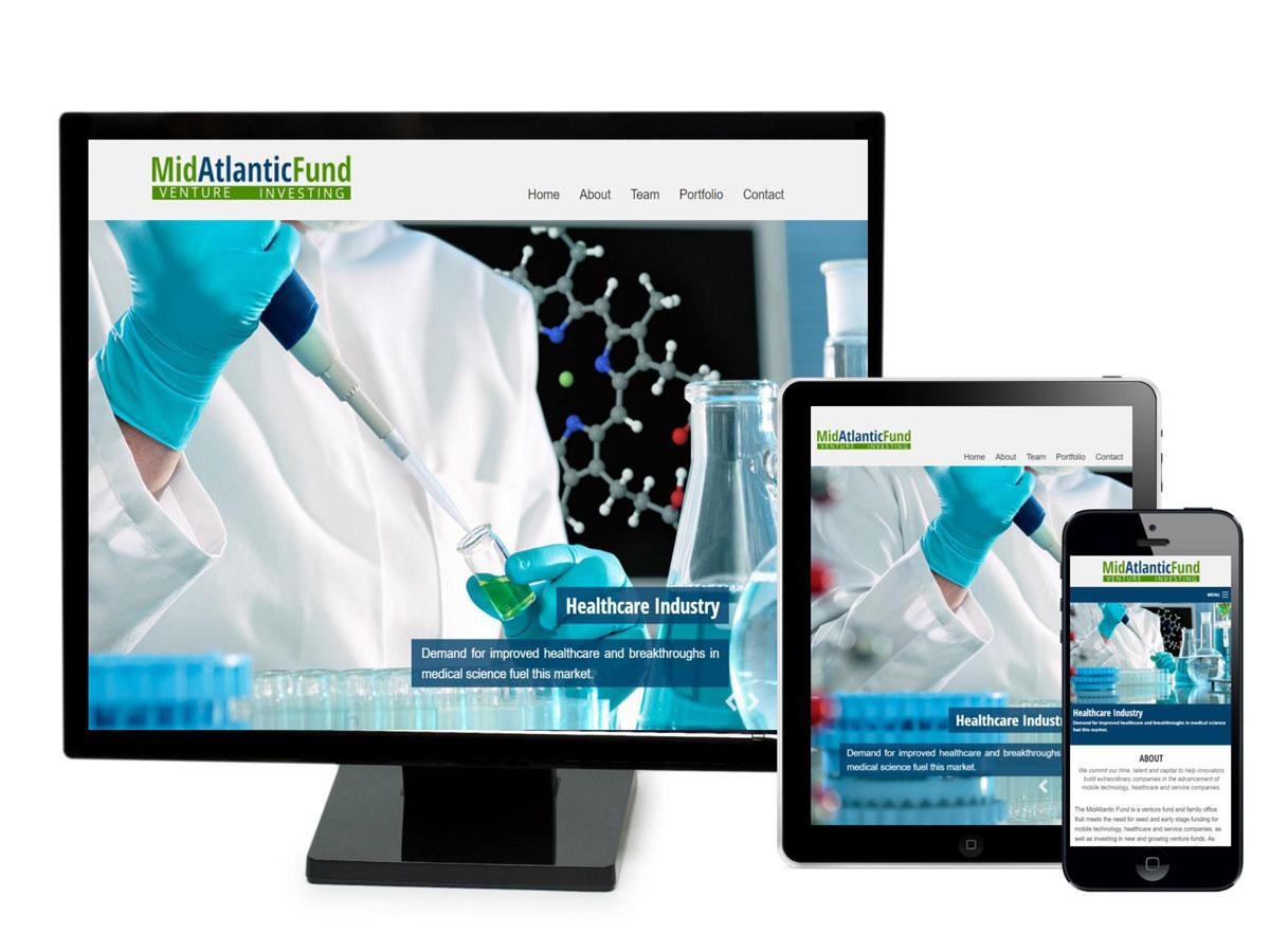 MidAtlantic Fund Website Design Portfolio