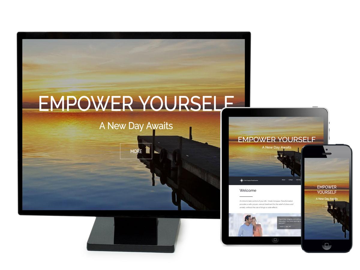 Credo Compass Transformation Website Design Portfolio