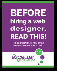 Exceller Marketing eGuide 2020 Hiring a Web Designer